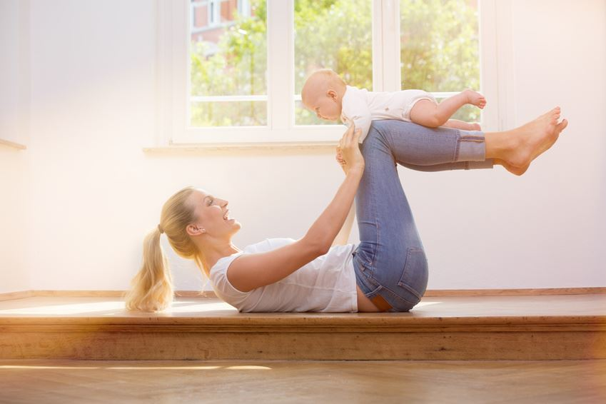 Three Ways To Get Fit As A New Mum