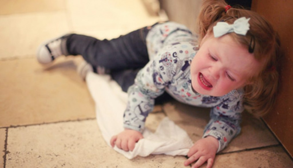 Temper tantrum the warning signs